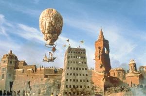 Imagem da adaptação do livro ao cinema por Terry Gilliam, em 1988