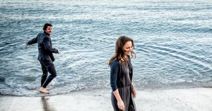 "Christian Bale e Natalie Portman em ""Knight of Cups"""