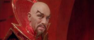 Max Von Sydow vestiu a pele de Ming no filme de 1980