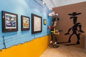 Lucky Luke - 70 Anos. Amadora BD 2016 27.º Festival Internacional de Banda Desenhada