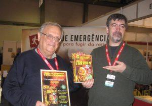 João Barreiros e Luís Filipe Silva na edição 2016 da Comic Con